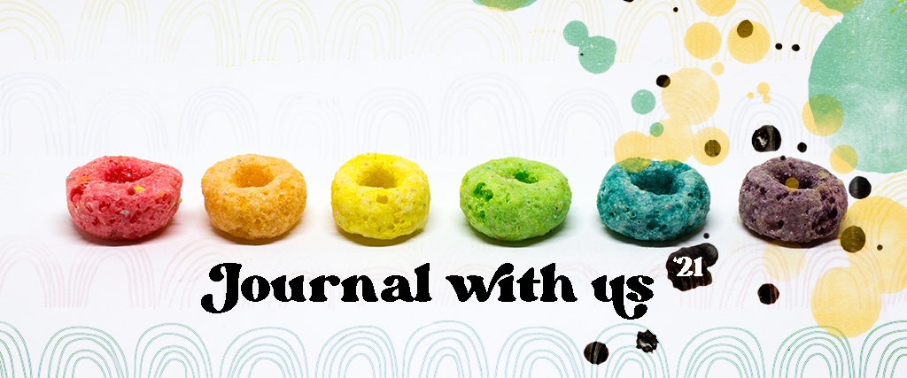 journal with us through '21